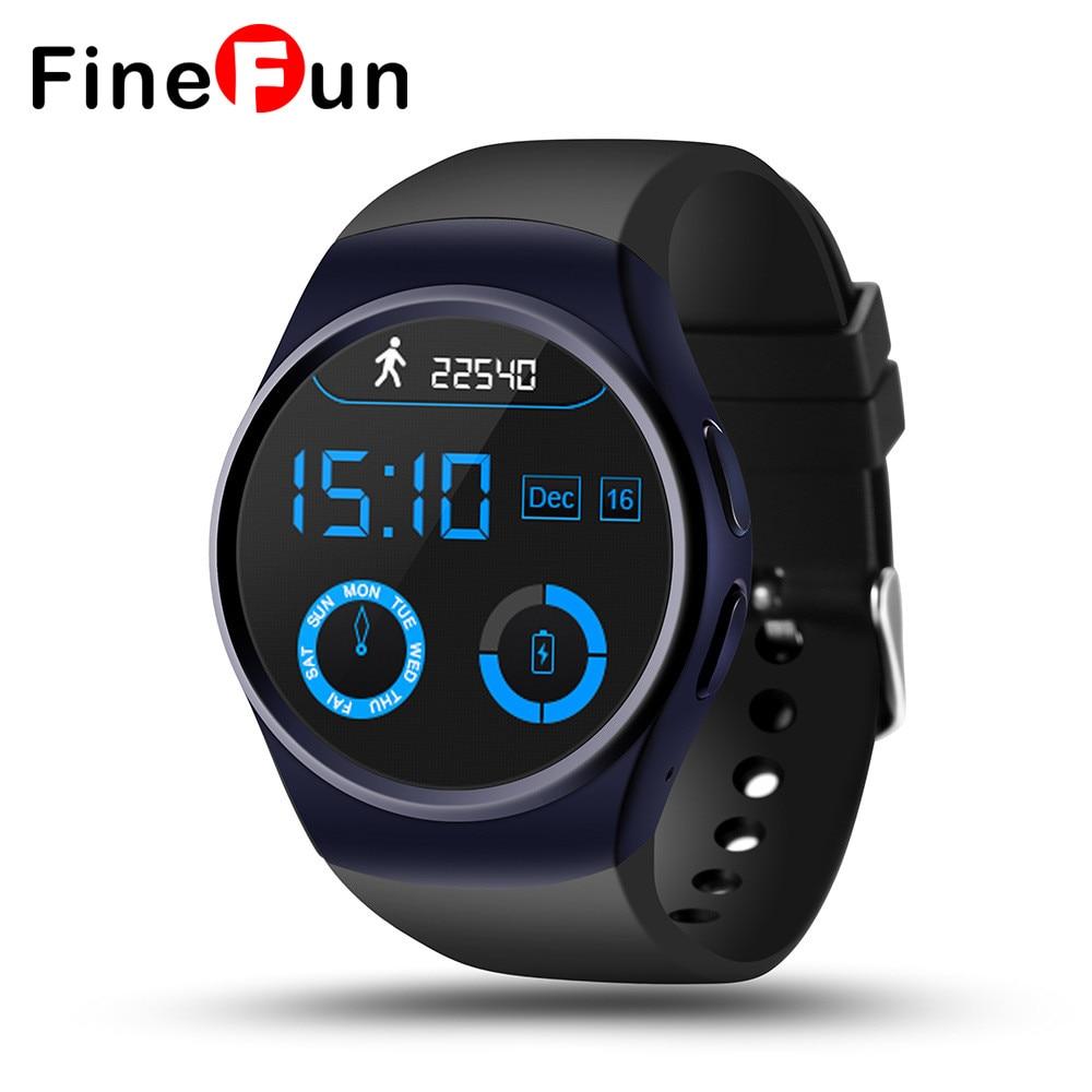 FineFun 1 3 inch MTK2502C ROM128Mb 64Mb Bluetooth font b smart b font card support call