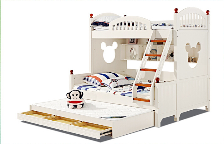 Online get cheap colorful bunk beds aliexpress kids twin for Cheap kids bed frames