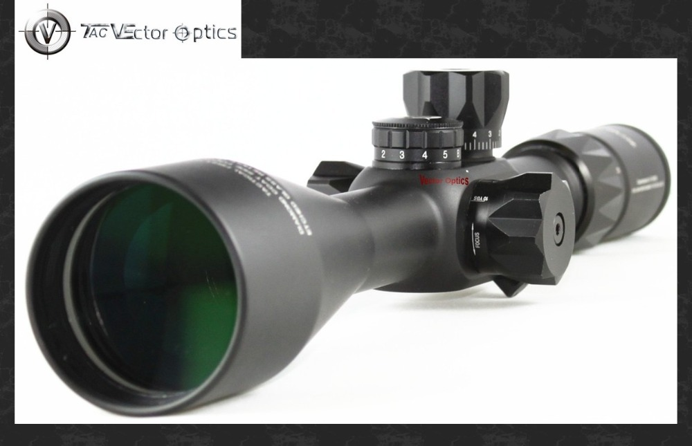 Vector Optics Counterpunch 6-25x56 First Focal Plane Tactical Military High Quality Rifle Scope 1/4 MOA Turret Mildot Reticle