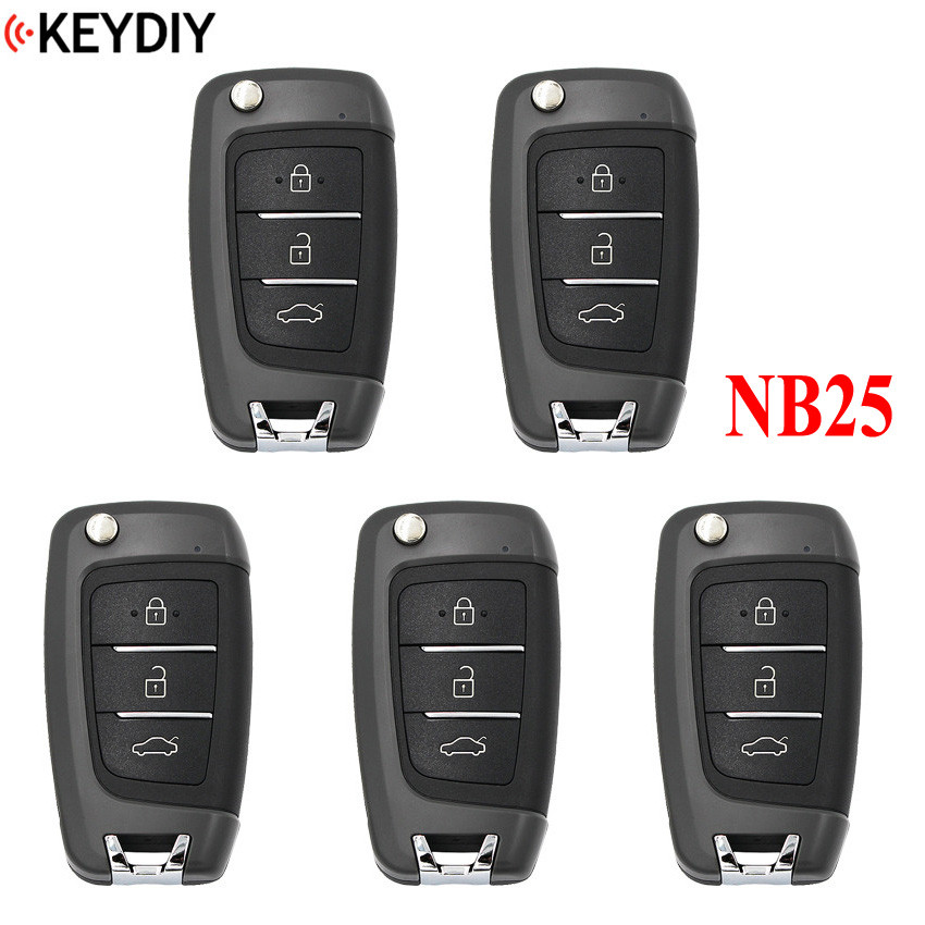 5PCS Multi functional Universal Remote for KD900 KD900 URG200 KD X2 NB Series KEYDIY NB25 all