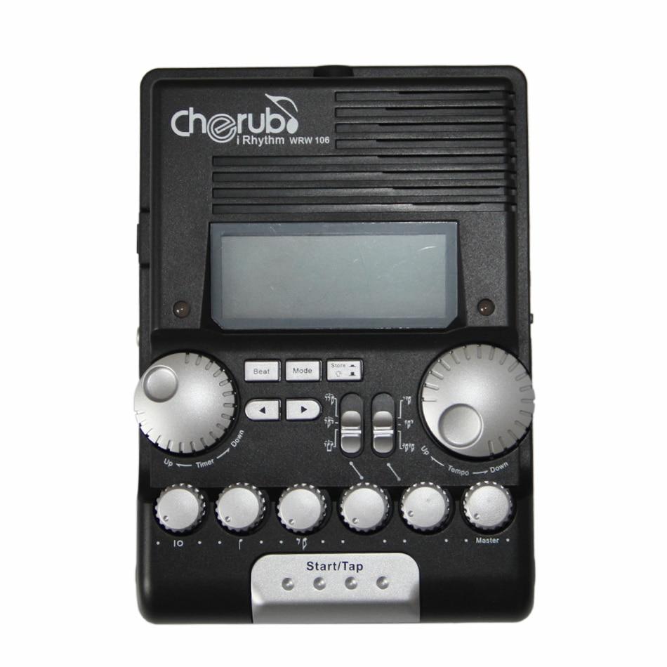 Guitar Metronome Cherub WRW-106 Rhythm Trainer Drum Metronome cherub wrw 106 rhythm trainer drum metronome