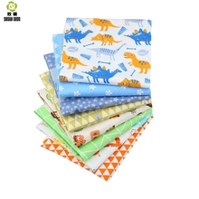 Shuanshuo Fabric Patchwork New Cartoon Tissue Cloth Of Handmade DIY Quilting Sewing Baby&Children Sheets Dress 40*50cm 8pcs/lot