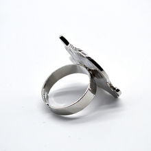 Resizable Cartoon Enamel Unicorn Ring