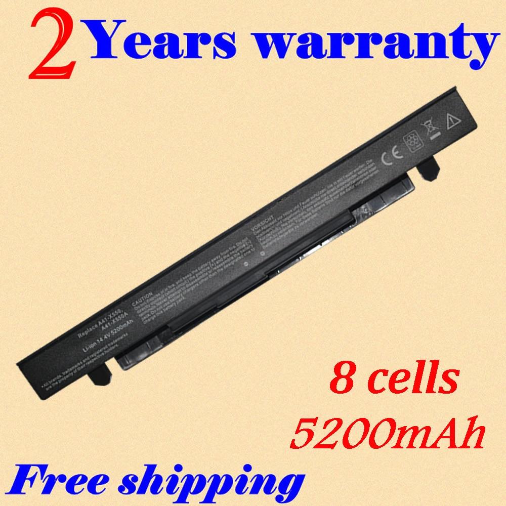 JIGU Laptop battery For asus A41-X550 X550C X452E X450L A41-X550A X550 A450 A550 F450 R409 R510 X450 F550 F552 K450 K550 P450 for asus x550 x550v x550c c a550 x450 y581c palmrest c shell