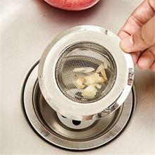 Сетчатый фильтр для раковины из нержавеющей стали, стопорный фильтр для ванны, фиксатор для волос, стопорный фильтр для раковины, фильтр для кухни и ванной комнаты