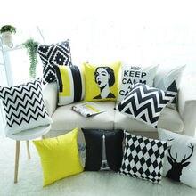 Мягкий Чехол на подушку Чехол для подушки в офис домашние мягкие орнамент мульти цветная наволочка