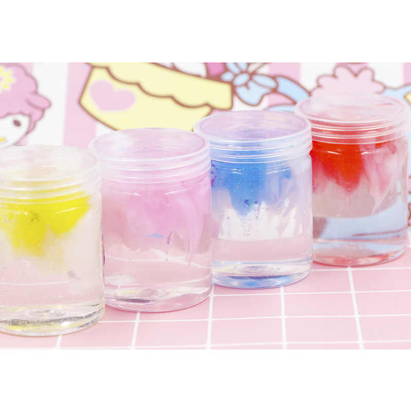 Hot Sale Slime Popular Toy Beautiful Modeling Clay Soft Crystal Mud Transparent Polymer Clay funny Toys Sequin Magic Lizun
