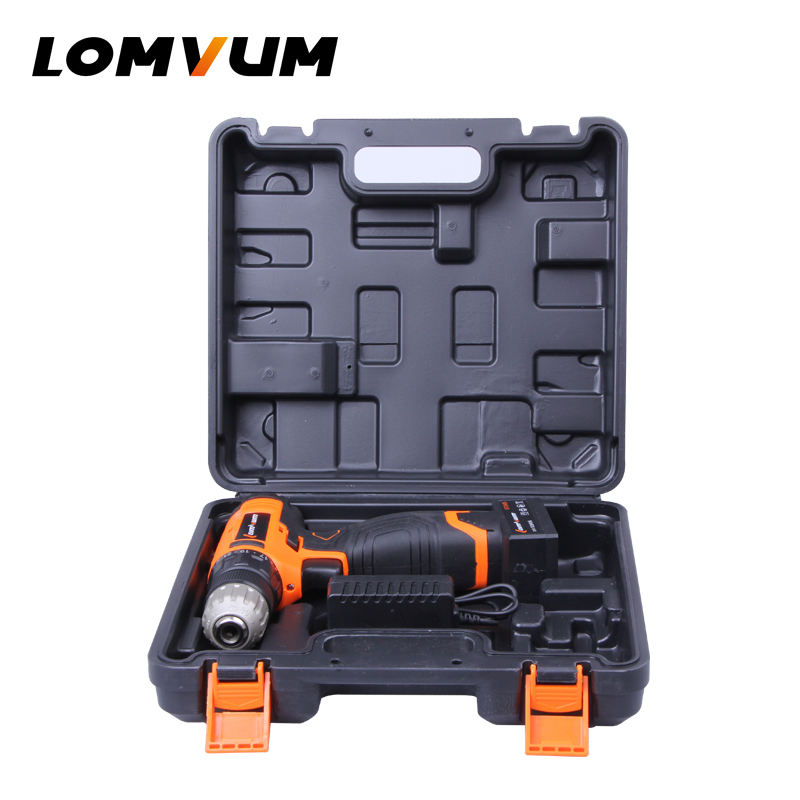 LOMVUM Cordless Drill Plastic Box Power Tool Suitcase Electric Screwdriver Carry Box Portable Electric Screwdriver Plastic BoxLOMVUM Cordless Drill Plastic Box Power Tool Suitcase Electric Screwdriver Carry Box Portable Electric Screwdriver Plastic Box