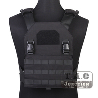 Emerson Tactical Adaptive Plate Carrier APC Black MOLLE Fast Attack Armor Vest Adjustable Lightweight Assault Vest