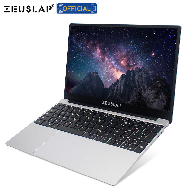 15.6 Inch I7 Laptop 8GB RAM 1TB 512GB 256GB 128GB SSD Gaming Laptop Ultrabook Intel Quad Core Win10 Notebook Computer