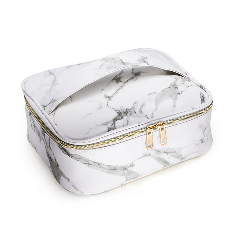 Praktisch 1 Pcs Make-up Kosmetik Tasche Lagerung Pouch Marmor Muster Zipper Tragbare Für Reise 88 Lxx9 Billigverkauf 50% Kosmetik Taschen & Koffer Gepäck & Taschen