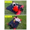 2017 Portable Compact Outdoor Garden Camping Beach Picnic Pocket Blanket Mat Nylon Waterproof Hot