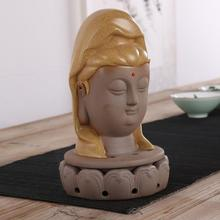 Guanyin tuas Figure censer High-grade sandalwood aloes smoked incense burner Incense coil There are