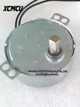 50TYZ Modelo de Brinquedo Ímã Permanente Synchronous Motor Da Engrenagem Do Motor de CORRENTE ALTERNADA Máquina de Papel em Rolo Motor Da Bomba De Óleo AC220V Em estoque ~