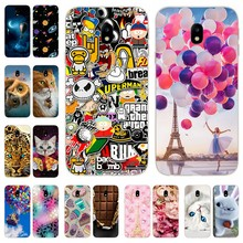 "Silicone Cover For Samsung J3 2017 Case 5.0"" Printing Cute Soft TPU Back Cover For Samsung Galaxy J 3 330 F 2017 Phone bags Capa(China)"