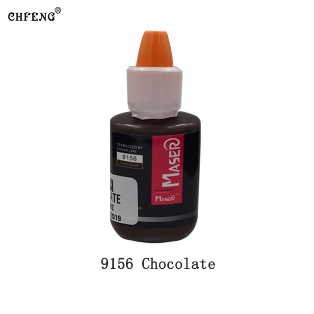 Makeup Pigment Tattoo Inks 1Pcs Eyebrow Eyeline Lip Permanent Makeup Cosmetic Beauty Embroidery Microblading Inks Tattoo Supply