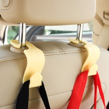 2PCS Car Seat Back Hook Multi-Purpose Car Headrest Hanger