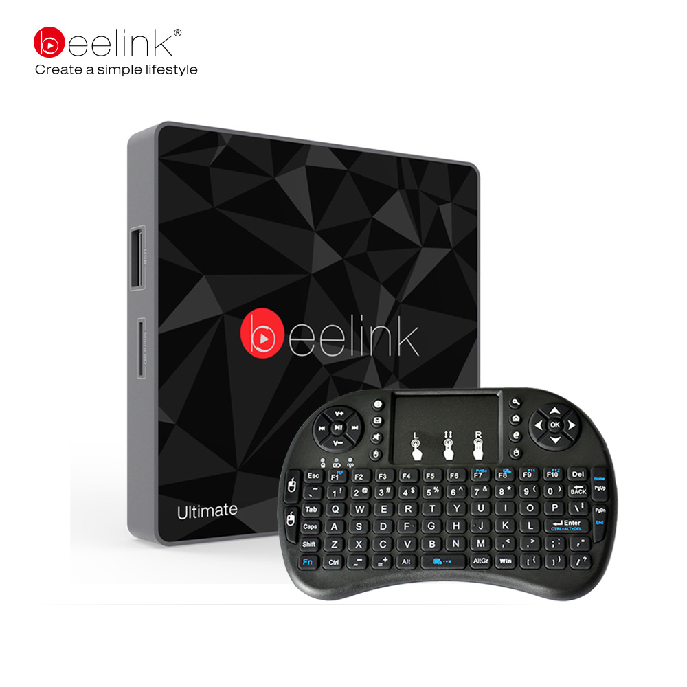 Beelink GT1 Ultimate TV Box Android 7 1 2 DDR4 3G RAM 32G eMMC Flash Amlogic