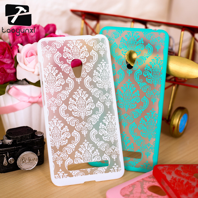 "TAOYUNXI Phone Case For Asus Zenfone 5 A501CG Asus_T00J Case Zenfone5 A500CG 5.0"" Cover Vintage Flower Plastic Clear Housing"