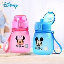 Disney 390ml Tritan Children Water Bottle For Baby Kids Feeding Water Bottle BPA Free Portable Mickey Leak Proof Direct Drinking(China)