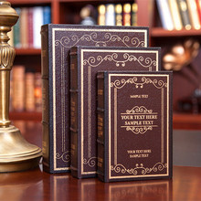 decorative Jingmei book box simulation fake book cabinet mold photography Home Furnishing jewelry ornaments bookcase wall dies