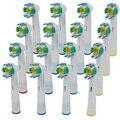 16 PCS Elétrica Cabeças de escova de Dentes Oral B Floss Ação EB-18A Substituição F