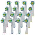 16 UNIDS F Reemplazo Cabezas de cepillo de Dientes Eléctrico Oral B Floss Acción EB-18A