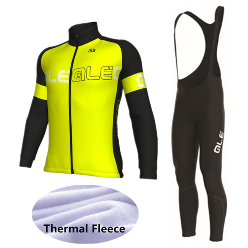 ale 2017 Winter cycling jerseys Undertake customization Thermal Fleece Long Sleeves Jacket Ropa Maillot Ciclismo Bicycle st peter s golden ale