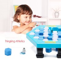 Ice Breaking Table Save The Penguin Family Fun Game Penguin Trap Activate Funny Table Game Interactive