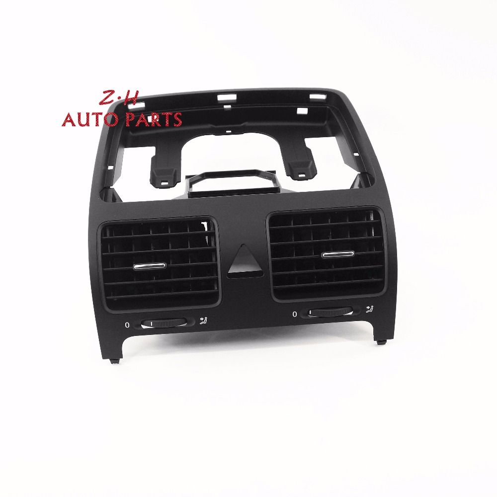 OEM Black Front Dash Central Air Outlet Vent Fit VW Jetta Golf GTI Rabbit MK5 MKV