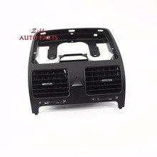 OEM Черная передняя тире центральный выход воздуха Vent Fit VW Jetta Гольф GTI Кролик MK5 MKV 1K0 819 728 F J h/1K0819728F/j/ч