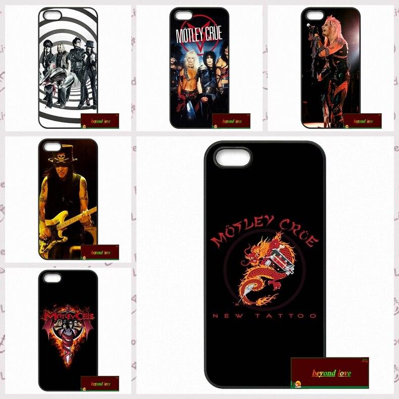 Motley Crue nikki sixx fashion Cover case for iphone 4 4s 5 5s 5c 6 6s plus samsung galaxy S3 S4 mini S5 S6 Note 2 3 4  DE0158