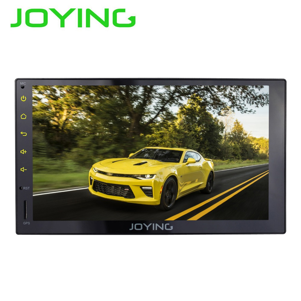 7Joying 2 Din Multimedia Player Universal Android Car Radio Stereo Audio 1024*600 HD Full Touch Screen GPS Navigation Head Unit
