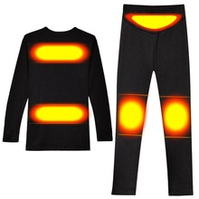 Underwear Sports Winter SAVIOR Heat 3-Level-Control Close-Fitting-Heating-Jacket Electric