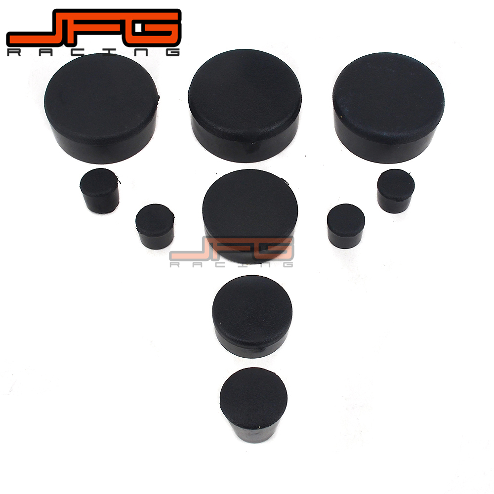 Motorcycle Rubber Frame Fairings Plugs For SUZUKI GSXR600 GSXR750 GSXR GSX600R GSX750R 600 750 2006 2007 2008 2009 2010 motorcycle rear wheel hugger fender mudguard mud splash guard for suzuki gsxr600 gsxr750 gsxr 600 750 2006 2007 2008 2009 2010