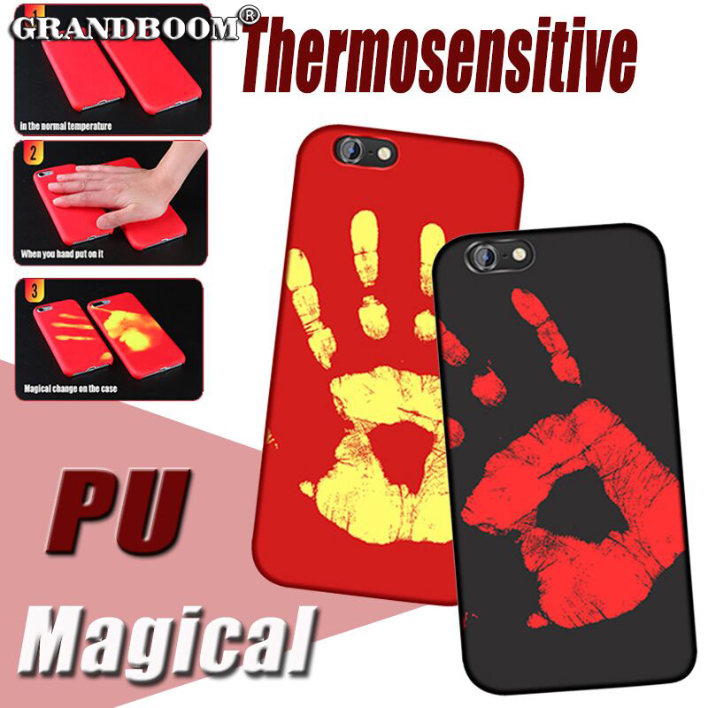 30pcs Physical Thermal Sensor Discoloration Case For iPhone 11 Pro Max XS XR X 8 7 6 6S Plus 5 5S Sensitive Color Change Cover    1