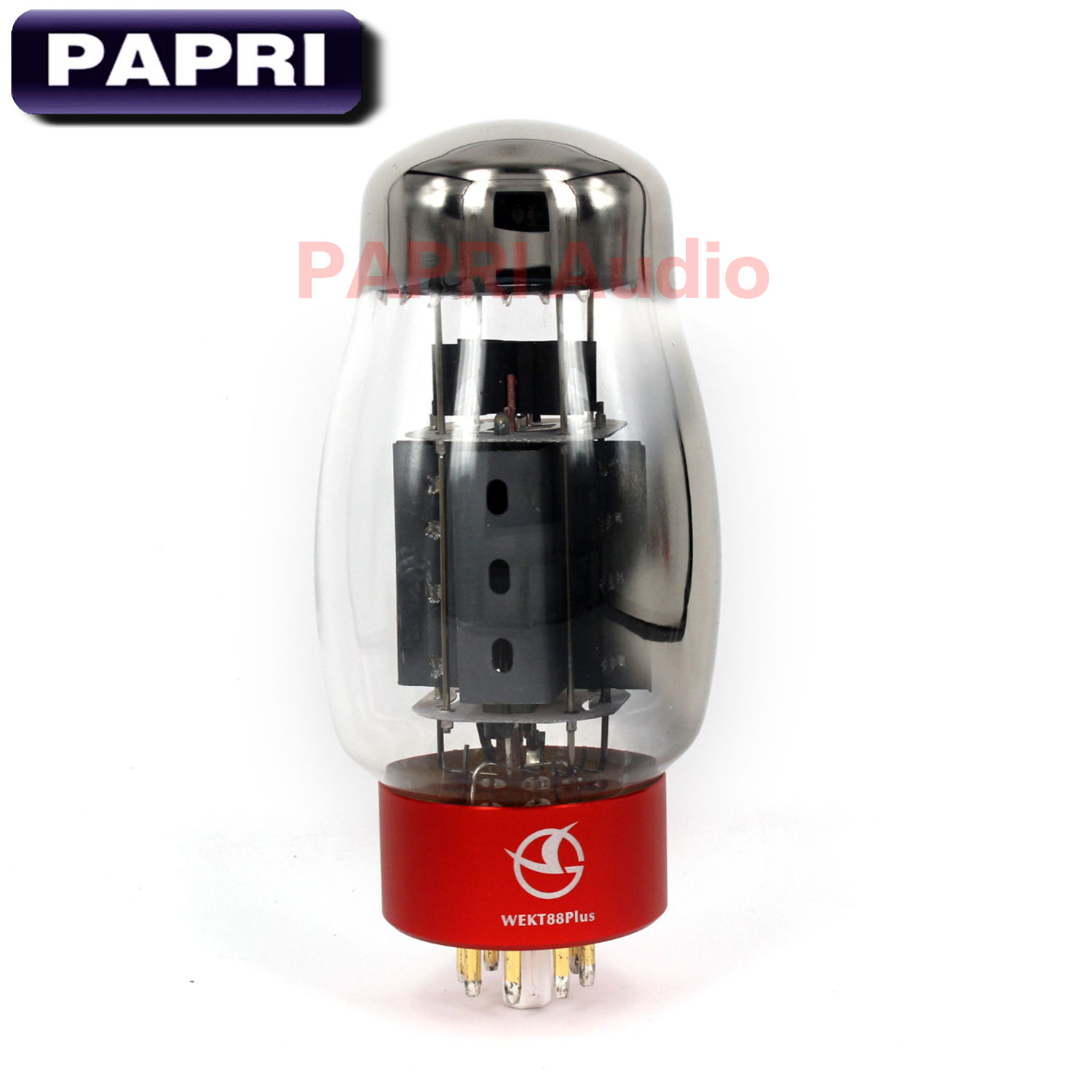 PAPRI Newest WEKT88 PLUS Vacuum Tube HiFi Shuguang KT88 Replace Tube For Amplifier Audio HIFI DIY Factory Tested Matched 1PCS цена и фото