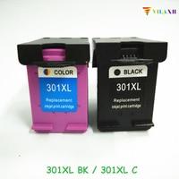 vilaxh 301XL Compatible Ink Cartridge Replacement For HP 301 xl for Deskjet 1000 1510 1050 2050 3050 Envy 4500 5530 Printer