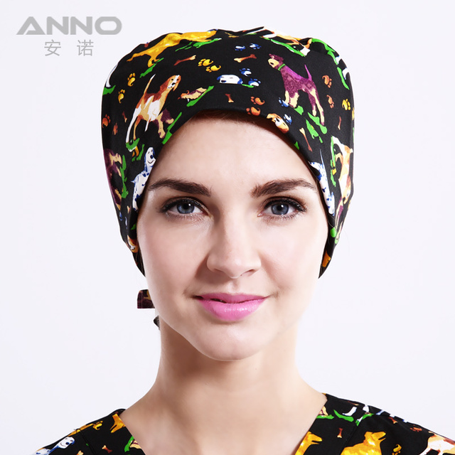 working cap  medical hat  scrub hats unisex hats suitable for long and short hair with comfortable