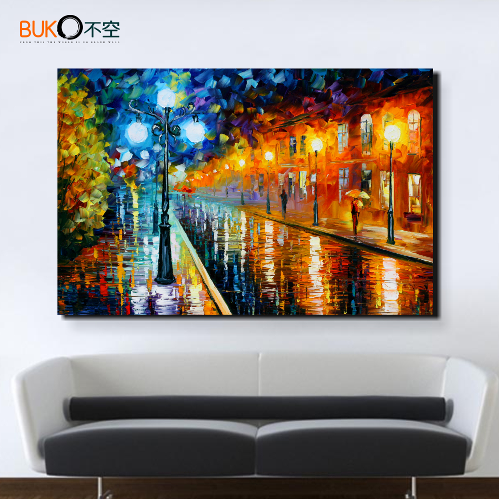 Buy 100 hand painted large oil painting for Buy canvas wall art