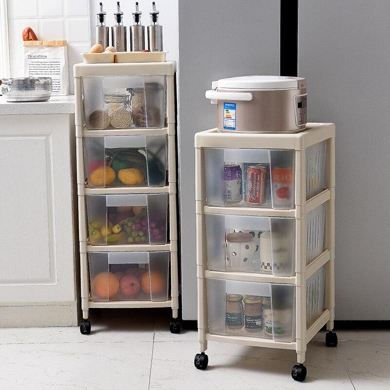 Japan Style Organizadora Storage Box Kitchen Shelf Drawer ...