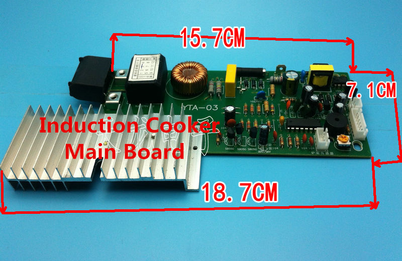 Touch Screen Induction Furnace Main Board Universal Board General PCB Board Repair Parts Induction Cooker Main Board