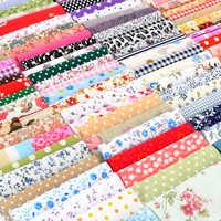 100 pièces bricolage couture poupée Quilting Patchwork Textile tissu sacs 10x10 cm carré Floral coton tissu artisanat