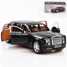 1:24 Auto giocattolo Eccellente Qualità Rolls Royce Phantom Metallo Auto In Lega Auto Giocattolo Giocattoli Pressofusi E Veicoli Modello di auto Giocattoli Per I Bambini