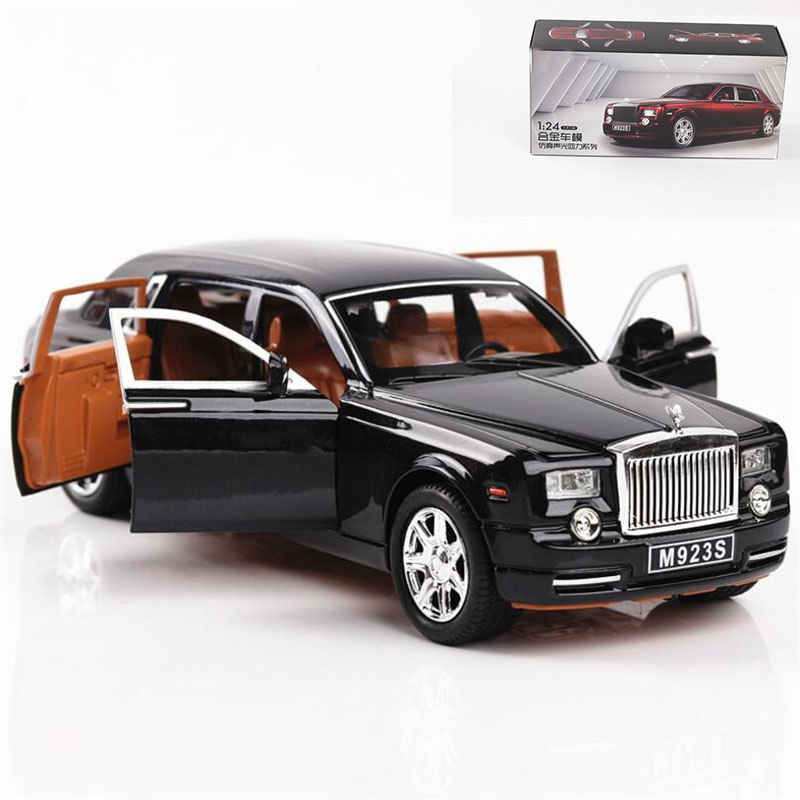 1:24 Toy Car Excellent Quality Rolls-Royce Phantom Metal Car Toy Alloy Car Diecasts & Toy Vehicles Car Model Toys For Children