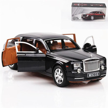 1:24 Toy Car Excellent Quality Rolls Royce Phantom Metal Car Toy Alloy Car Diecasts & Toy Vehicles Car Model Toys For Children