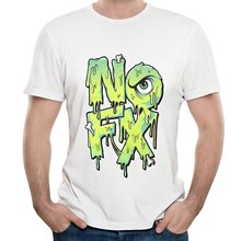 Summer Sleeves Fashion Shirt Short Sleeve Men Printing  Nofx Rock Band Live Show Crew Neck