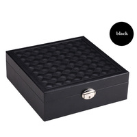 Russia Shipping Multi functional Ring Cases Packaging Gift Box Jewelry Display Stand Casket Decorations Jewelry Box KQS8