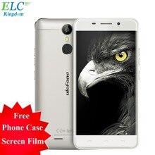 """Nuevo metal 5.0 """"4g ulefone smartphone android 6.0 mtk6753 octa core 3 gb + 16 gb huella digital de 5mp + 13mp touch id del teléfono celular"""