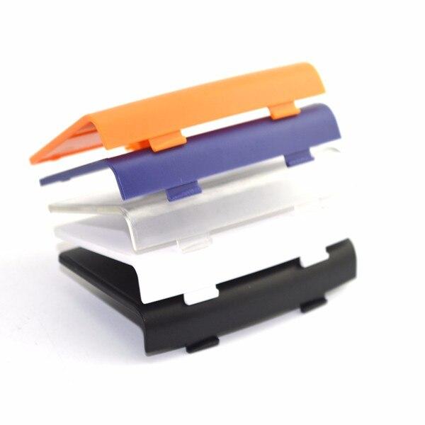 Transparent violet Jeux Accessoires Couverture batterie Case porte arri/ère couvercle Remplacer Pour Nin Gameboy Advance GBA Console